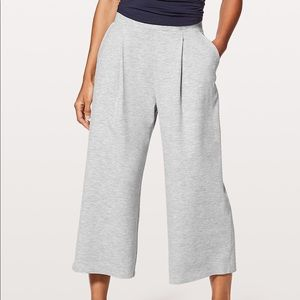 Can You Feel The Pleat Lululemon Crop